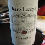 テールロング コルビエール(Terre Longue Corbieres)2006