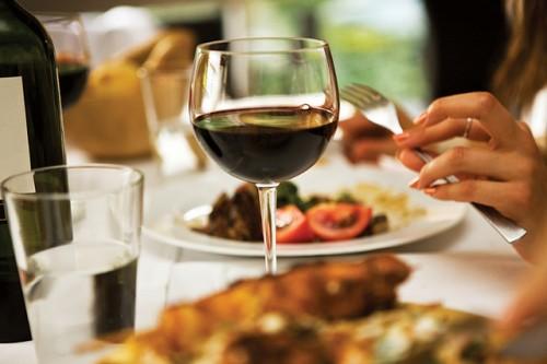 ワインと食事との組み合わせ