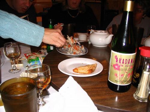 中国料理とワイン